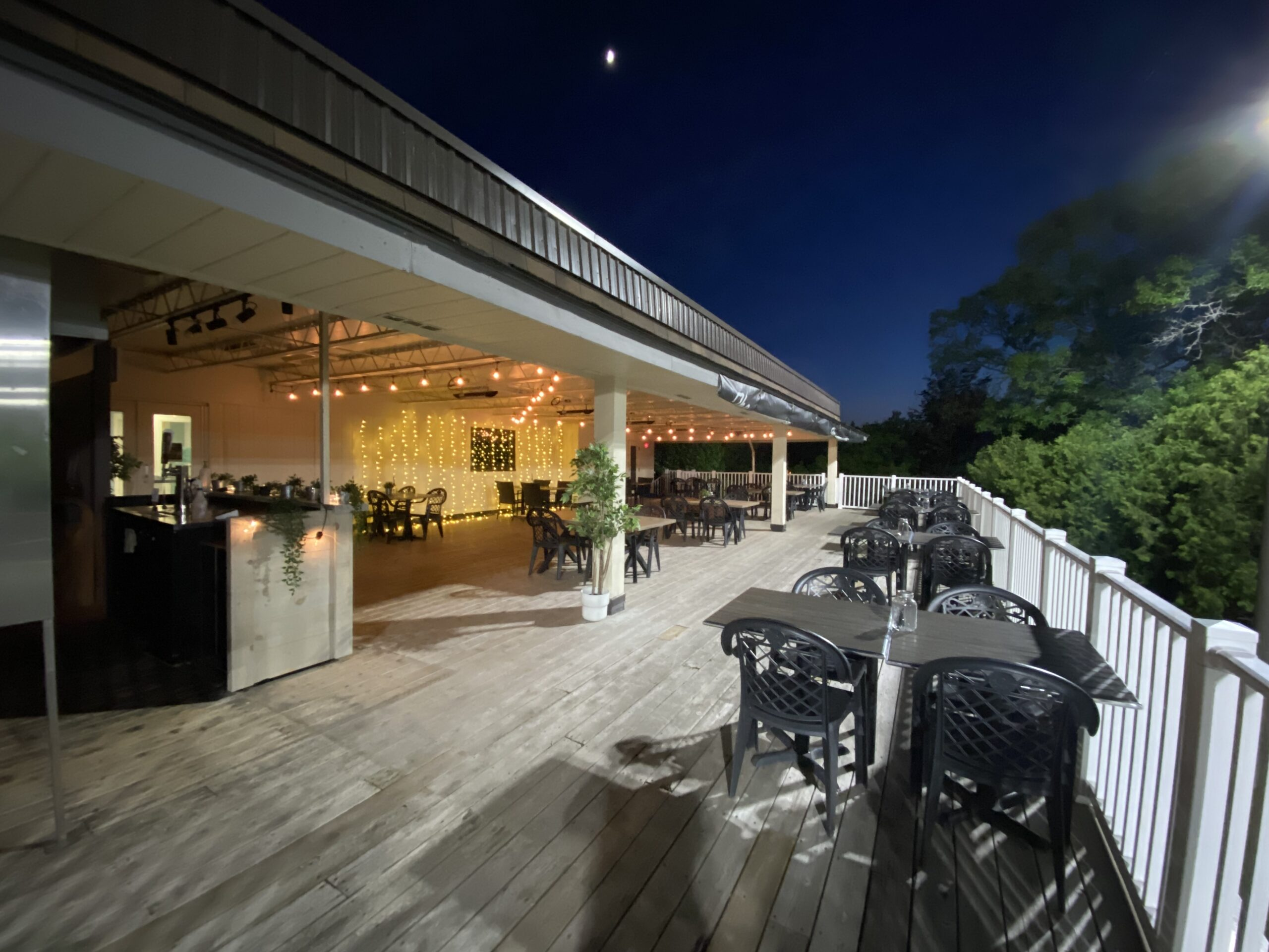 Heated & Covered Upper Patio